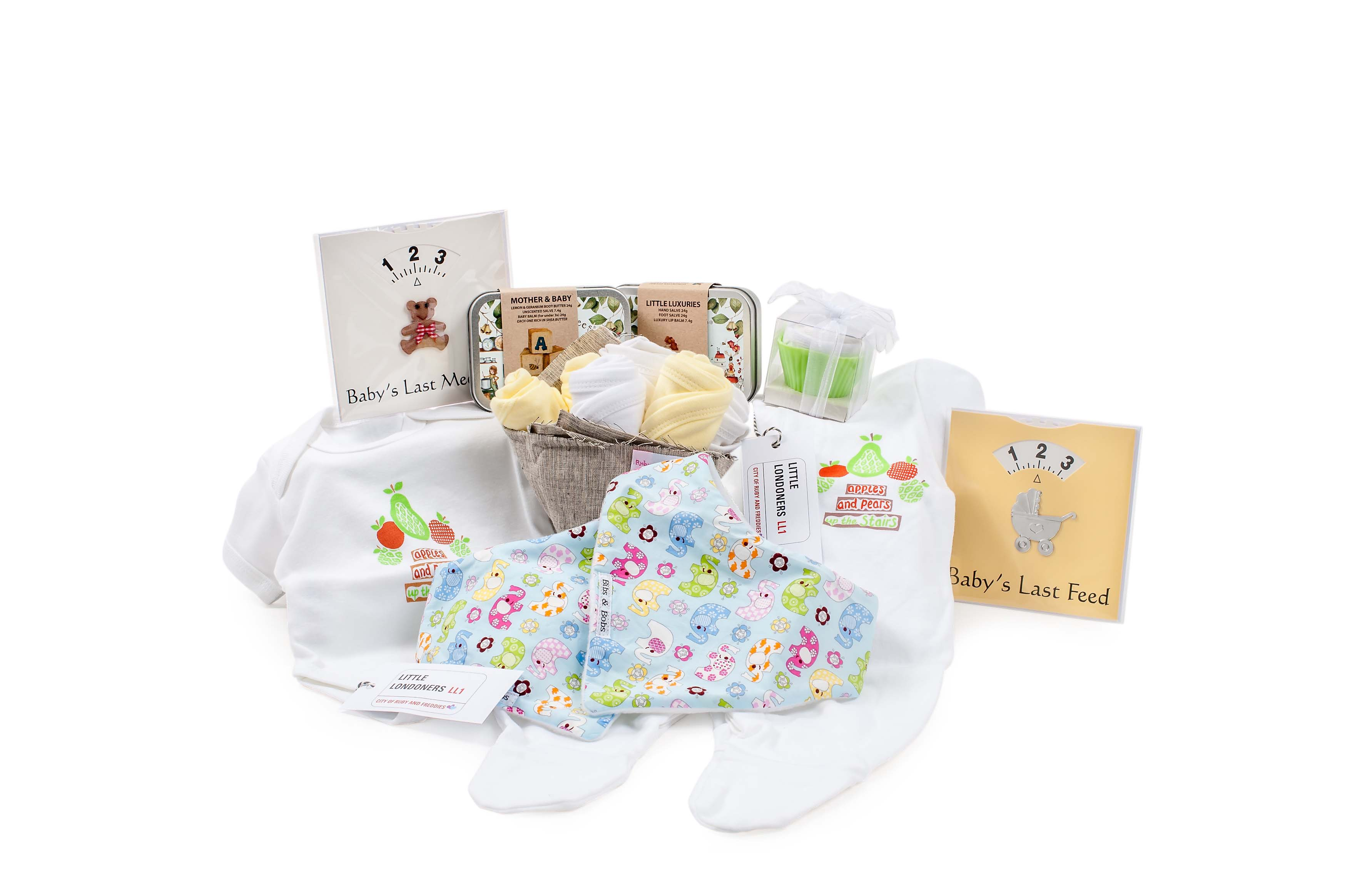 Baby Gifts | Baby Shower Gifts | Luxury UK Baby Shower Gifts | Unisex Baby Gift Sets | Baby Gift Box
